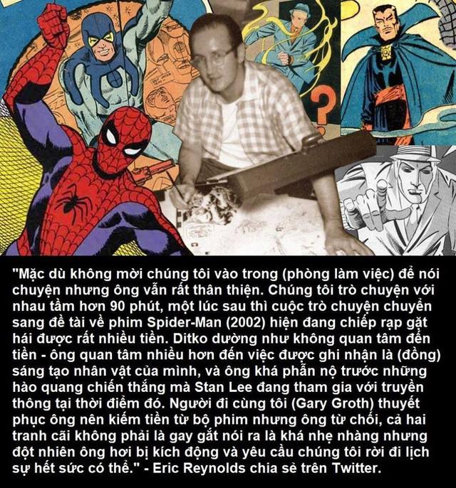 Tất tần tật thông tin về Stan Lee và Steve Ditko, 2 con người tuyệt vời đã tạo ra Spider-Man - Ảnh 14.