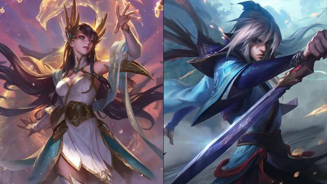 LMHT: Câu chuyện ẩn sau nhóm trang phục Tiên Hiệp sắp ra mắt - Morgana là vợ của Talon? - Ảnh 3.