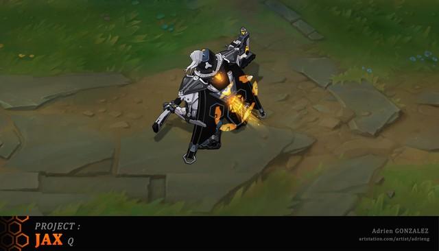 LMHT: Tiếp tục xuất hiện bộ trang phục Jax Siêu Phẩm với bộ cánh đen tuyền ngầu bá cháy - Ảnh 4.