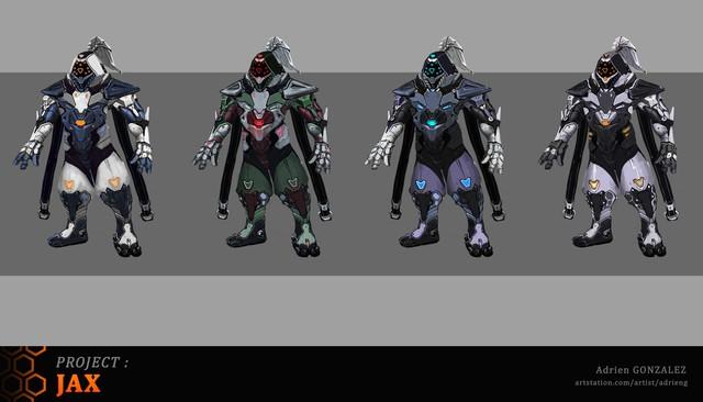 LMHT: Tiếp tục xuất hiện bộ trang phục Jax Siêu Phẩm với bộ cánh đen tuyền ngầu bá cháy - Ảnh 9.