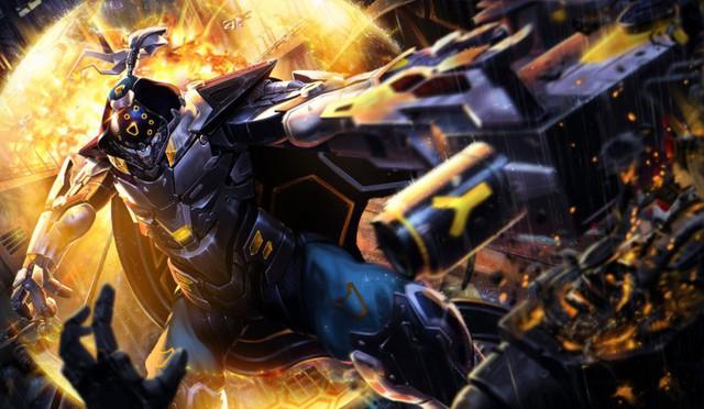 LMHT: Tiếp tục xuất hiện bộ trang phục Jax Siêu Phẩm với bộ cánh đen tuyền ngầu bá cháy - Ảnh 10.