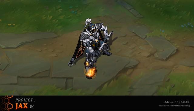 LMHT: Tiếp tục xuất hiện bộ trang phục Jax Siêu Phẩm với bộ cánh đen tuyền ngầu bá cháy - Ảnh 5.