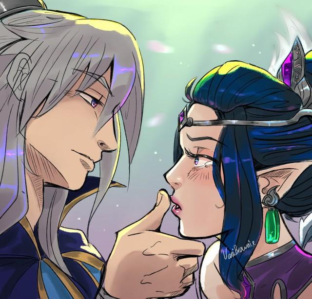 LMHT: Câu chuyện ẩn sau nhóm trang phục Tiên Hiệp sắp ra mắt - Morgana là vợ của Talon? - Ảnh 5.
