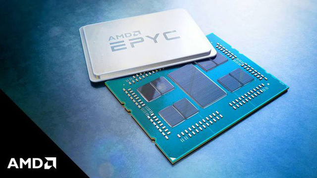 AMD phá vỡ kỷ lục hiệu năng với bộ vi xử lý kép EPYC 7742, 128 lõi và 256 luồng - Ảnh 1.