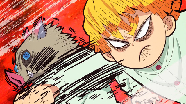 """Anime Kimetsu no Yaiba tập 24: Viêm Trụ nhận nhiệm vụ mới, bộ ba nhân vật chính liên tục """"tấu hài"""" - Ảnh 4."""