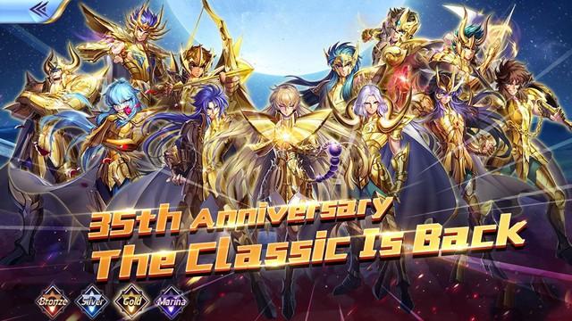 Saint Seiya Awakening - Game đánh theo lượt kế thừa nguyên tác Áo Giáp Vàng đã ra mắt - Ảnh 1.