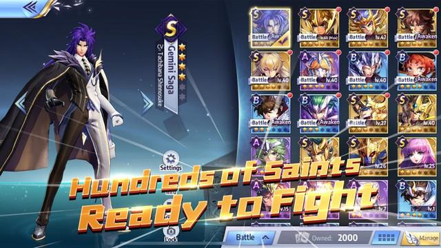 Saint Seiya Awakening - Game đánh theo lượt kế thừa nguyên tác Áo Giáp Vàng đã ra mắt - Ảnh 2.