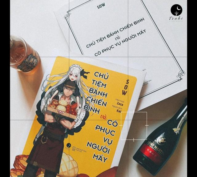 """Light Novel """"Chủ tiệm bánh chiến binh và cô phục vụ người máy"""" chính thức ra mắt với độc giả tại Việt Nam - Ảnh 5."""