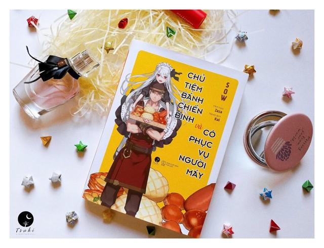 """Light Novel """"Chủ tiệm bánh chiến binh và cô phục vụ người máy"""" chính thức ra mắt với độc giả tại Việt Nam - Ảnh 7."""