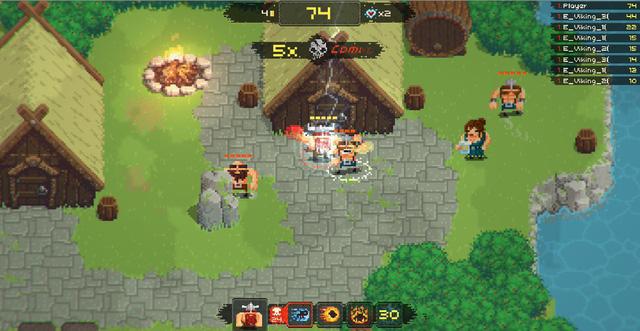Vikings Village: Party Hard - Game mobile sở hữu lối chơi loạn đấu cực vui nhộn rất đáng thử - Ảnh 2.