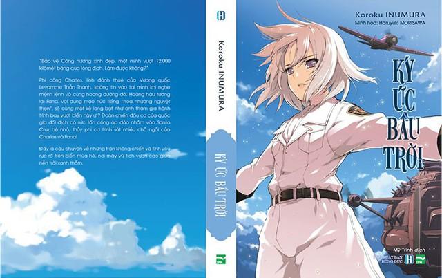 Light novel Ký ức bầu trời - Chuyện tình đẹp đẽ của công chúa và chàng phi công giữa lửa chiến tranh - Ảnh 2.
