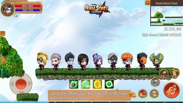 Tân binh mới nổi trên kho trò chơi: Cốt truyện Naruto, gameplay nhập vai, đồ họa Chibi siêu đáng yêu - Ảnh 5.