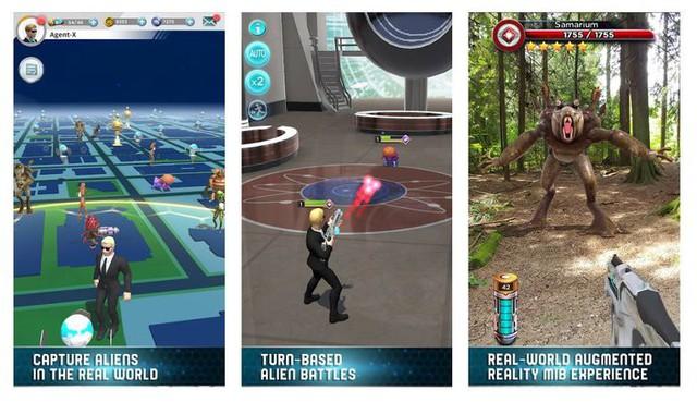MIB: Global Invasion - Game mobile thực tế ảo với chủ đề săn bắt quái vật ngoài hành tinh - Ảnh 1.