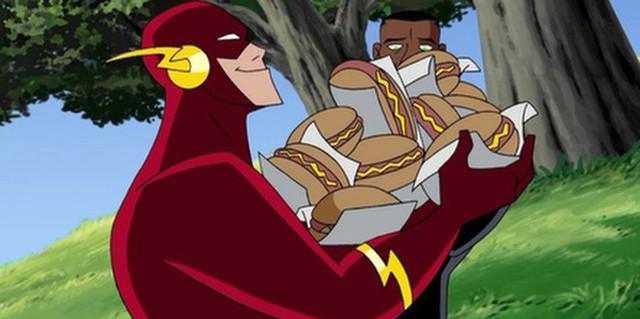 So tài Flash và A-Train - tia chớp mới của series The Boys - Ảnh 2.
