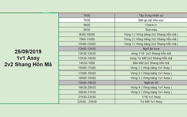 AoE Việt Nam Open 2019: Chính thức công bố lịch thi đấu - Ảnh 2.