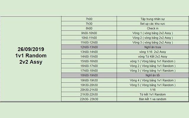 AoE Việt Nam Open 2019: Chính thức công bố lịch thi đấu - Ảnh 3.