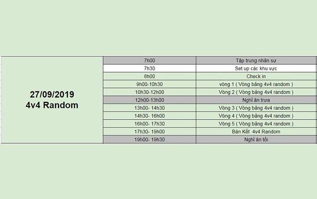 AoE Việt Nam Open 2019: Chính thức công bố lịch thi đấu - Ảnh 4.