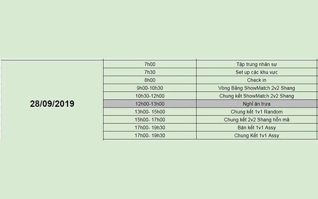 AoE Việt Nam Open 2019: Chính thức công bố lịch thi đấu - Ảnh 5.