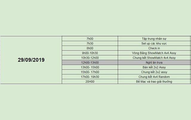 AoE Việt Nam Open 2019: Chính thức công bố lịch thi đấu - Ảnh 6.