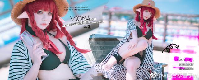 Ngây ngất trước vẻ đẹp ngọt ngào nhưng không kém phần nóng bỏng của Vigna trong Arknights - Ảnh 7.