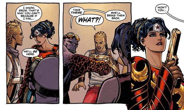 Bỏ cung sang súng, khẩu súng lục của thần tình yêu Eros trong vũ trụ DC đáng sợ thế nào? - Ảnh 3.