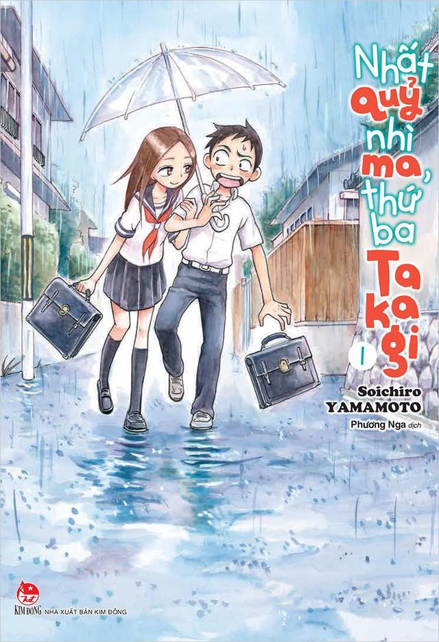 Nhất quỷ nhì ma, thứ ba Takagi - siêu phẩm manga học đường đáng yêu sắp đổ bộ vào cuối tháng 9 này - Ảnh 2.