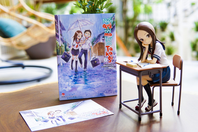 Nhất quỷ nhì ma, thứ ba Takagi - siêu phẩm manga học đường đáng yêu sắp đổ bộ vào cuối tháng 9 này - Ảnh 1.