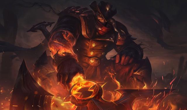 LMHT: Không chỉ Darius, sắp tới em trai của hắn là Draven cũng có trang phục Cao Bồi? - Ảnh 1.