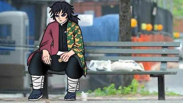 Chết cười với loạt ảnh chế về anh đụt Tomioka Giyuu trong Kimetsu no Yaiba - Ảnh 23.