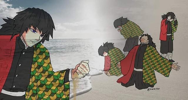 Chết cười với loạt ảnh chế về anh đụt Tomioka Giyuu trong Kimetsu no Yaiba - Ảnh 8.