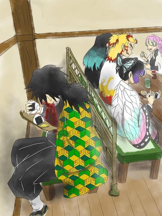 Chết cười với loạt ảnh chế về anh đụt Tomioka Giyuu trong Kimetsu no Yaiba - Ảnh 24.