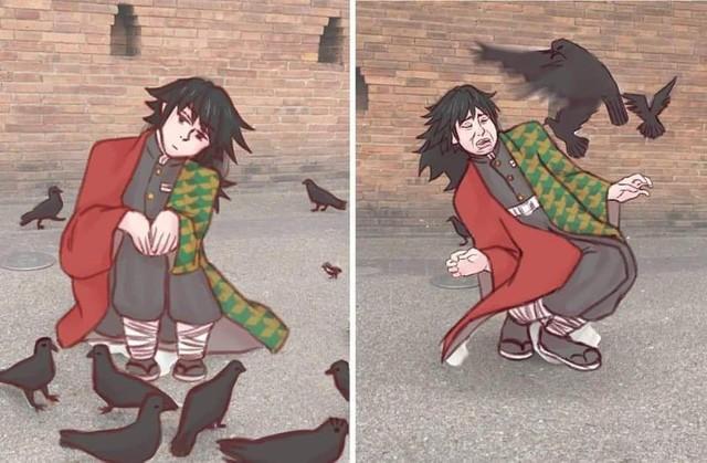 Chết cười với loạt ảnh chế về anh đụt Tomioka Giyuu trong Kimetsu no Yaiba - Ảnh 7.