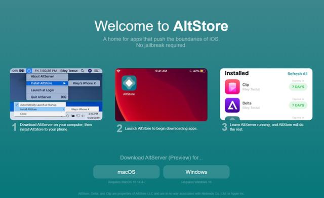 AltStore, cửa hàng ứng dụng trong mơ cho người dùng và là nỗi ác mộng của Apple - Ảnh 1.