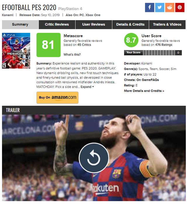 FIFA 20 thất bại thảm hại, nhận điểm đánh giá thấp nhất lịch sử - Ảnh 3.