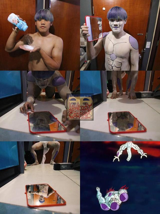 Loạt ảnh cosplay Dragon Ball phá vỡ mọi giới hạn tưởng tượng của thánh Low cost cosplay - Ảnh 13.