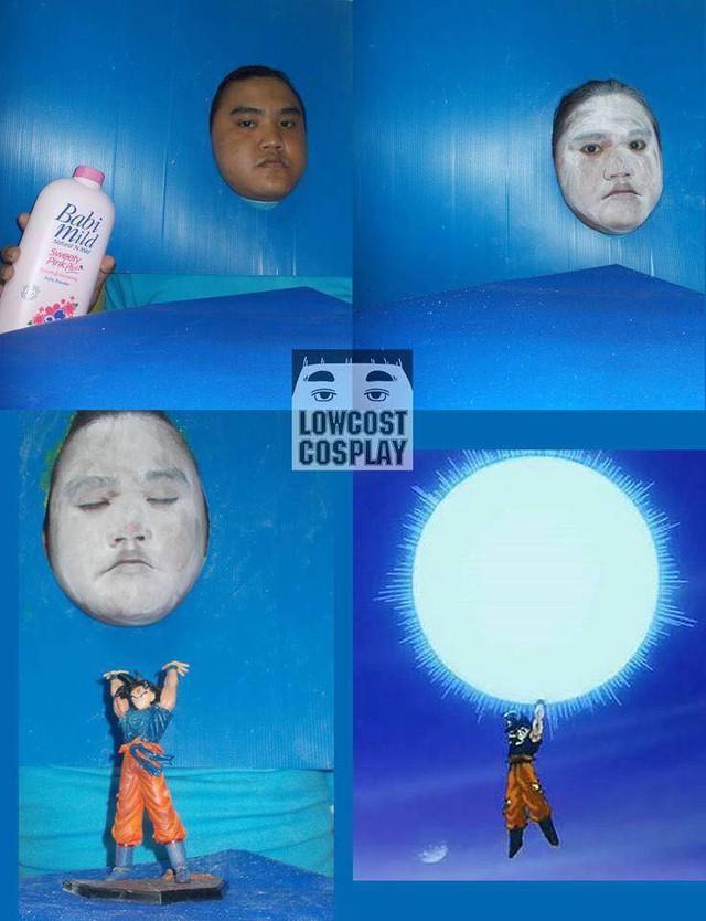 Loạt ảnh cosplay Dragon Ball phá vỡ mọi giới hạn tưởng tượng của thánh Low cost cosplay - Ảnh 3.