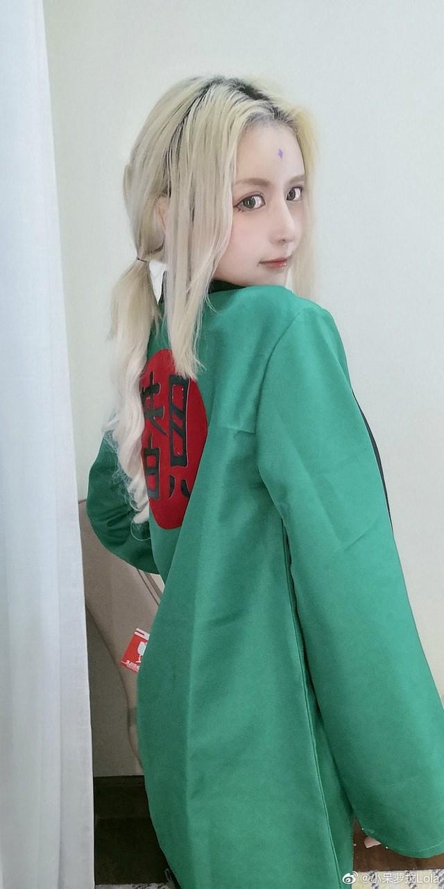 """""""Chảy nước miếng"""" với pha cosplay Tsunade siêu vòng 1 của cô nàng mặt học sinh, ngực phụ huynh - Ảnh 3."""