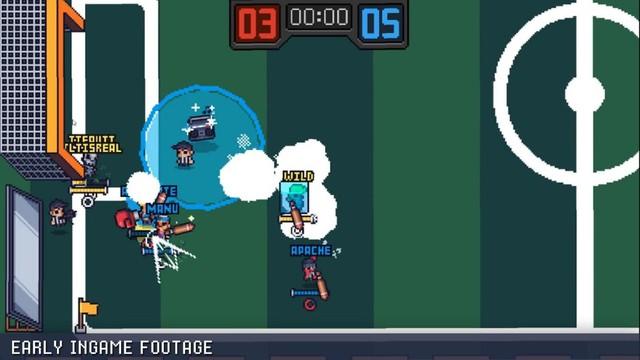 Guts 'N Goals - Game đá bóng quật nhau siêu hài hước - Ảnh 1.