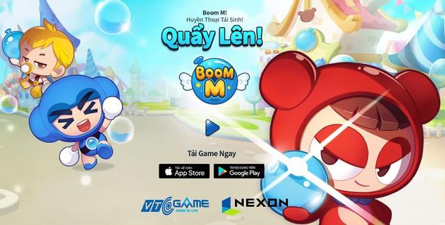 Huyền thoại Boom M trở lại, tặng giftcode giá trị cho anh em game thủ - Ảnh 1.