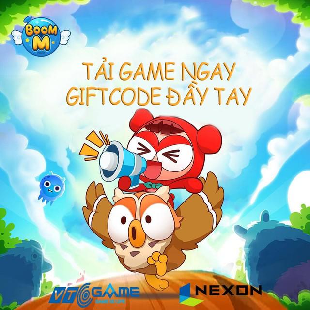 Huyền thoại Boom M trở lại, tặng giftcode giá trị cho anh em game thủ - Ảnh 3.
