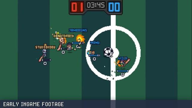 Guts 'N Goals - Game đá bóng quật nhau siêu hài hước - Ảnh 2.