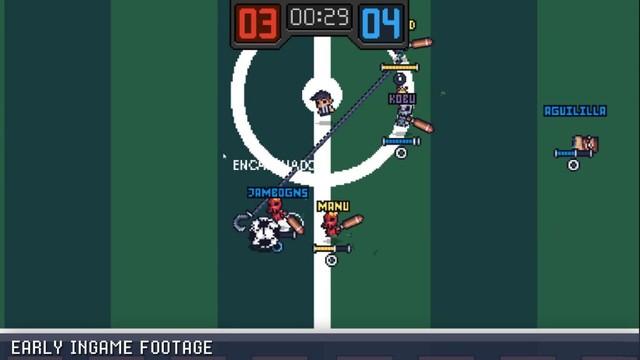 Guts 'N Goals - Game đá bóng quật nhau siêu hài hước - Ảnh 3.