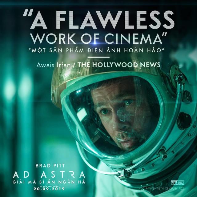 Brad Pitt cùng siêu phẩm Ad Astra hứa hẹn sẽ mê hoặc khán giả đắm chìm vào không gian vũ trụ đầy hư ảo - Ảnh 4.
