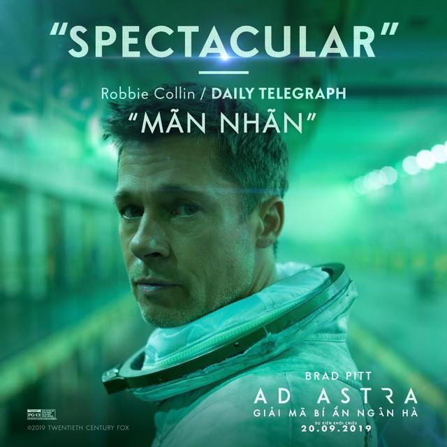 Brad Pitt cùng siêu phẩm Ad Astra hứa hẹn sẽ mê hoặc khán giả đắm chìm vào không gian vũ trụ đầy hư ảo - Ảnh 5.