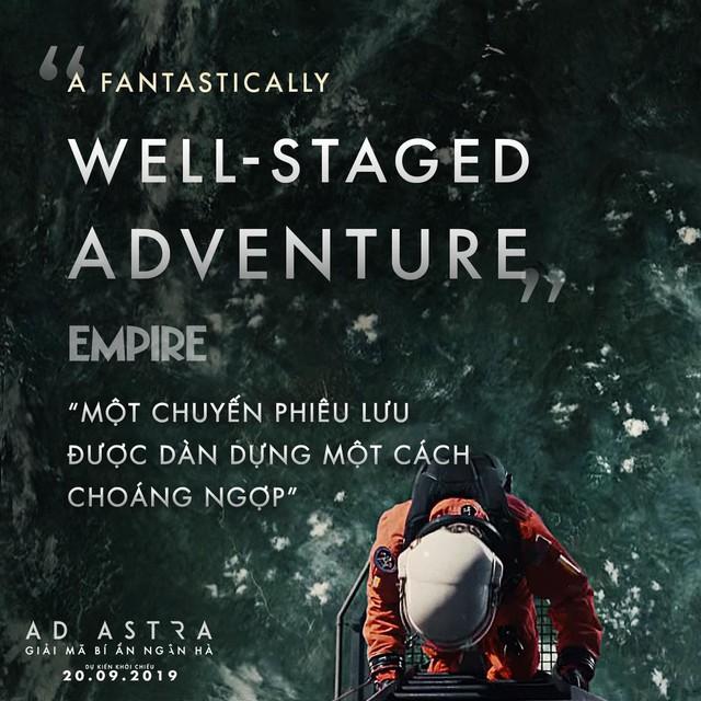 Brad Pitt cùng siêu phẩm Ad Astra hứa hẹn sẽ mê hoặc khán giả đắm chìm vào không gian vũ trụ đầy hư ảo - Ảnh 7.
