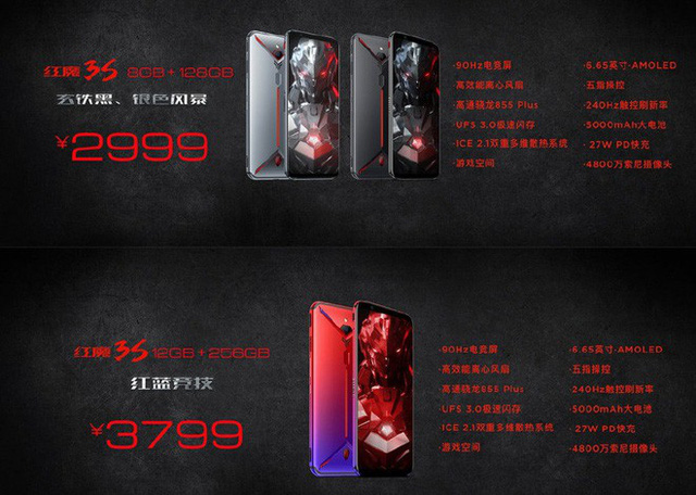 Smartphone gaming tuyệt vời Nubia Red Magic 3S ra mắt với cấu hình siêu khủng, pin siêu trâu giá lại mềm chỉ dưới 10 triệu đồng - Ảnh 4.