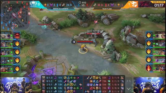 Liên Quân Mobile: Team Flash hủy diệt ZD Esports khiến người xem tưởng Cao Thủ đấu Bạch Kim - Ảnh 3.