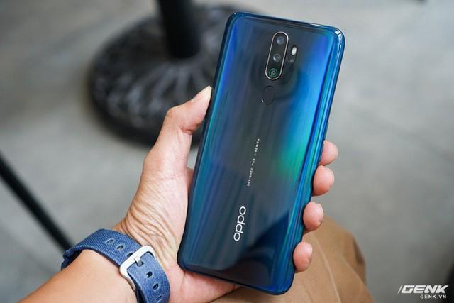 Trên tay Oppo A9 2020: Thiết kế đẹp mắt, cấu hình rất tốt trong phân khúc tầm trung, giá dự kiến 6,9 triệu đồng - Ảnh 9.