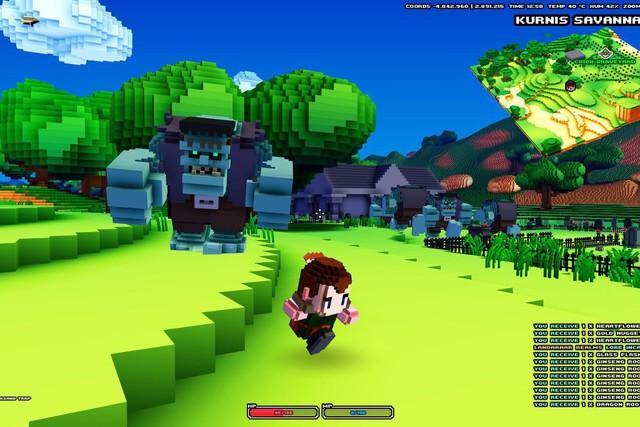 Sau 6 năm biệt tăm, dị bản đình đám của Minecraft – Cube World bất ngờ tái xuất trên Steam - Ảnh 1.