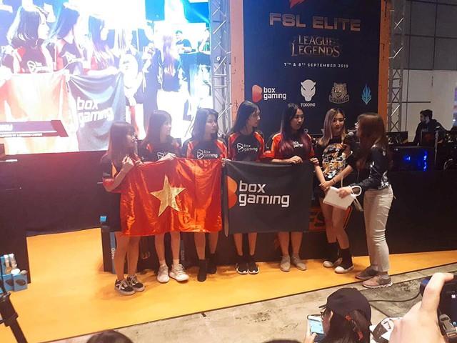 Box Ladies chính thức trở thành Tân Nữ Vương FSL 2019, Việt Nam giữ vững ngôi vị thống trị LMHT Đông Nam Á - Ảnh 2.